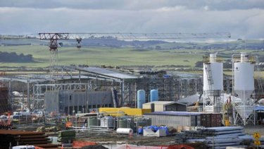 The desalination plant at Wonthaggi could be susceptible to climate change given its proximity to the coast.
