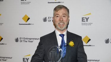 Ray Malone is a finalist in this year's EY Entrepreneur Of The Year awards.