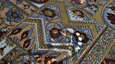 Ranamok 2014 winner: Kathryn Wightman's Carpet (detail).
