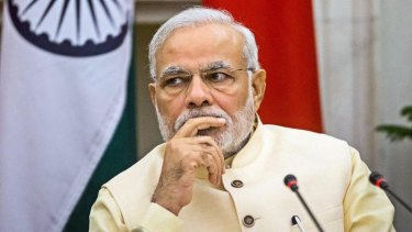 Industrious: Indian Prime Minister Narendra Modi is famous for his rigorous schedule.