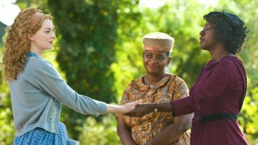 The engaging performance of Viola Davis (right, with co-star Emma Stone) in <i>The Help</i> is deserving of Oscar votes.