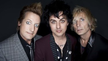 Clean rock: Tre Cool, Billie Joe Armstrong and Mike Dirnt.
