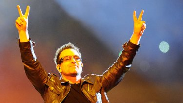 Measurable impact ... Bono earns kudos for his dedication to the cause of poverty eradication.