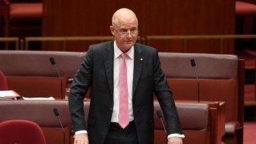 Senator David Leyonhjelm thanked smokers for their 'generosity'.