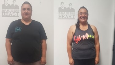Ms Lutui has lost more than 30 kilograms and has reversed her diabetes.