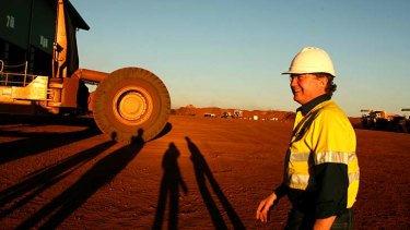 Andrew Forrest's future is looking much rosier as Fortescue Metals reaps the benefits of Chinese demand.