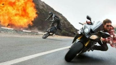 Tom Cruise returns as Ethan Hunt in <i>Mission: Impossible - Rogue Nation</i>.