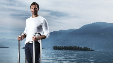 Former swimmer and media personality Ian Thorpe.