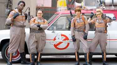 <i> Ghostbusters</i> is finally being unveiled to the world.