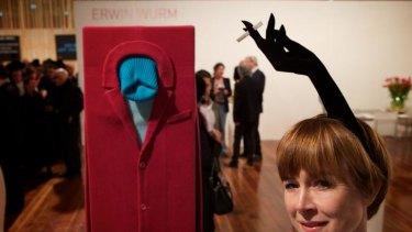 Lisa Bowen looks at an Erwin Wurm piece from the Anna Schwartz Gallery.