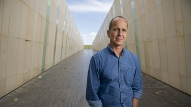Australian journalist Peter Greste in Canberra in March.