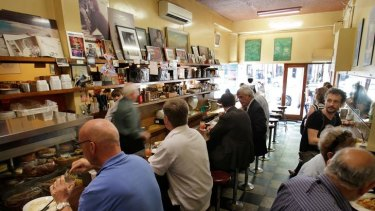 A retro slice of Melbourne at Pellegrini's.
