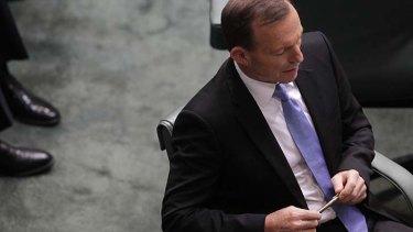 Fresh claims ... Tony Abbott.