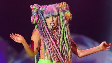Costume changes and weirdness galore: Gaga pleases the Little Monsters.