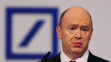 Deutsche Bank CEO John Cryan cut a deal for $7.2 billion to settle allegations related to the sale of mortgage-backed securities before the GFC.