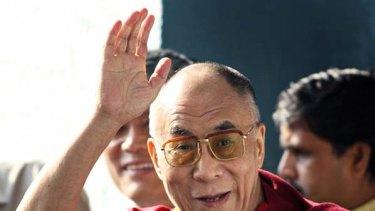Dalai Lama . . . the 14th and maybe the last.