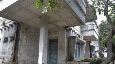 A Jengki-style house in Jakarta.