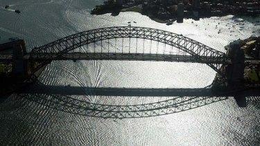 Icon: the Sydney Harbour Bridge.