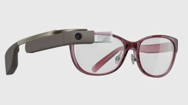 Chic: Google Glass gets a makeover.
