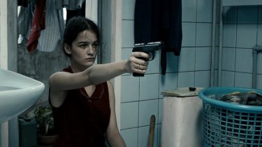 <i>In Bloom</i>: Mariam Bokeria as Natia.