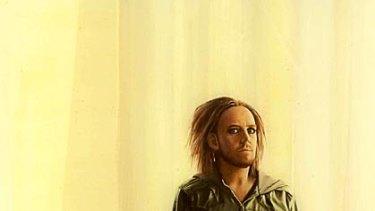 Sam Leach's Archibald Prize-winning portrait of Melbourne comedian Tim Minchin.