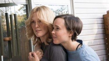 Julianne Moore and Ellen Page struggle for justice in <i>Freeheld</i>.