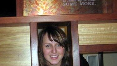 Didn't choke ... 3AW newsreader Kate Wilson.