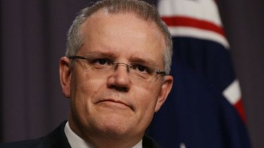Treasurer Scott Morrison will reveal the state of the budget on Monday.