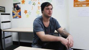 Job seeker: Daniel Summer, 19, is hoping to also start a mechanics course.
