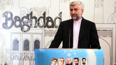 Iran's chief nuclear negotiator, Saeed Jalili.
