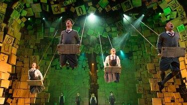 The Royal Shakespeare Company's production of <i>Matilda</i>.