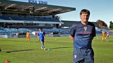 Much admired:  Former Dinamo Zagreb youth academy director Romeo Jozak.