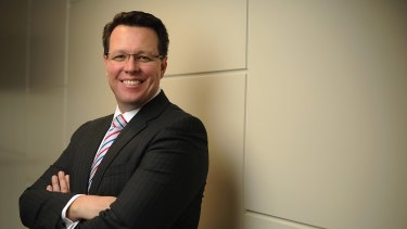 Former Olympic champion Kieren Perkins has forged a successful career as a banking executive.