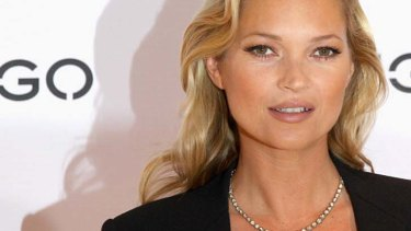 """""""I cried for years"""" ... Kate Moss says she hated nudity when she was young."""