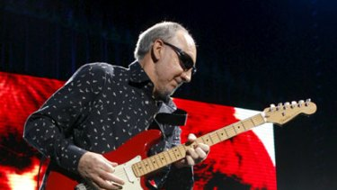 Pete Townshend from The Who rocked Brisbane on Tuesday, March 24.