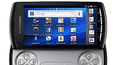 """The """"PlayStation Phone"""" ... Sony Ericsson's Xperia Play."""