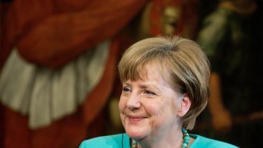 Angela Merkel, Germany's chancellor, has topped the Forbes list of the world's most-powerful women for a sixth year in a row.
