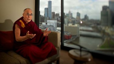 His holiness the Dalai Lama . . . China is hearing more voices, calling for democracy.