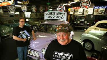 Two in a Millions: Richard and Bill McKellar have even produced a book about their restoration project. Only 350 of the Lilac-coloured Millions were manufactured.