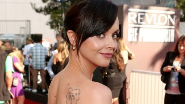 Christina Ricci ... ready to teach, and learn, in Redfern.