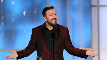 Actor Ricky Gervais took to social media to voice his anger at the meat festival, tweeting: 'We SHOULD get angry'.
