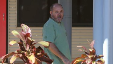 A heckler shouts at Prime Minister Kevin Rudd during a visit to a GP Super Clinic in Darwin.