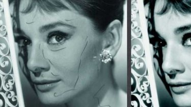No botox but there was retouching at Breakfast at Tiffany's
