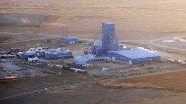 High priority: Rio Tinto's Oyu Tolgoi mine in Mongolia.