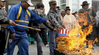 Anger against US surveillance flares up in Brazil's neighbour, Bolivia.
