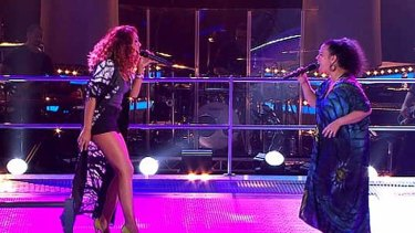 Battle rounds: Prinnie and Mahalia on <i>The Voice</i>