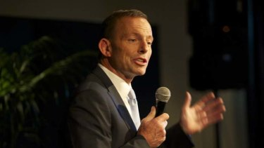 """Australia needs to deal with its """"backyard issues"""" ... Opposition Leader Tony Abbott."""