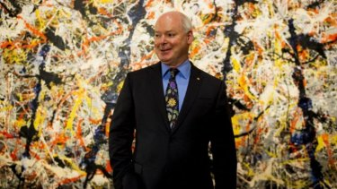 The newly-appointed director of the National Gallery of Australia, Dr Gerard Vaughan.