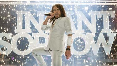 Bad boy ... Russell Brand is brilliant as Aldous Snow.