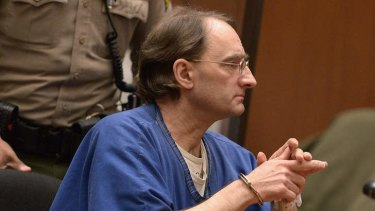 Alleged Rockefeller impostor Christian Gerhartsreiter from Germany attends his murder trial at Los Angeles Superior Court in Los Angeles, California.